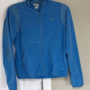 Lacoste Sports Zip-Up Top Size M.